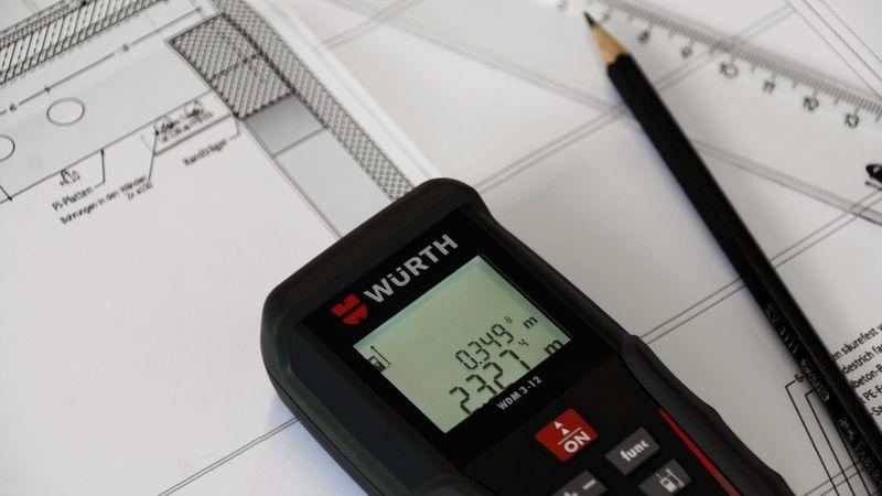 Würth entfernungsmesser app baustellen laser entfernungsmesser